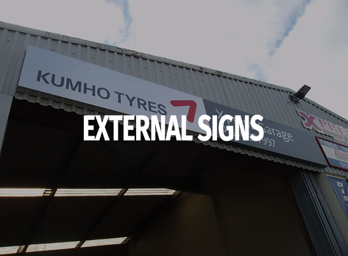 Services-External Signs