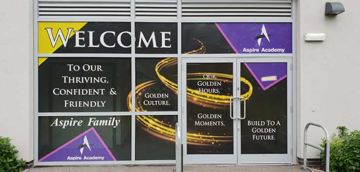 Window Vinyls Aspire Academy C