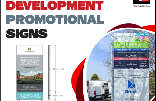 Housing Development Signs